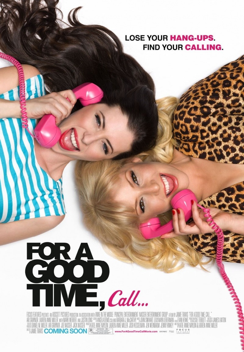 ������: ���� ������ ������ �������� �����, ����� / For a Good Time, Call... (2012) HDRip